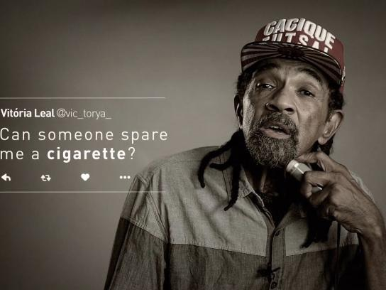 ADESF Digital Ad - The voice of cigarette
