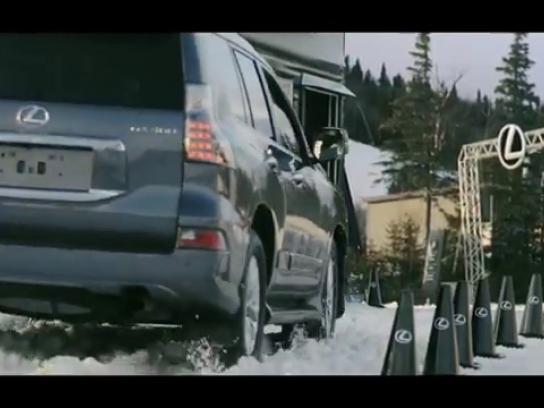 Lexus Digital Ad -  Lexus AWD-Thru