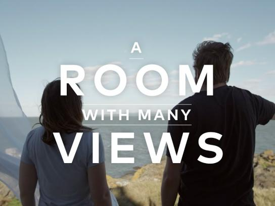 Québec Original Film Ad - A room with many views