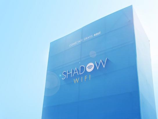 Liga Contra el Cancer Ambient Ad -  Shadow Wifi