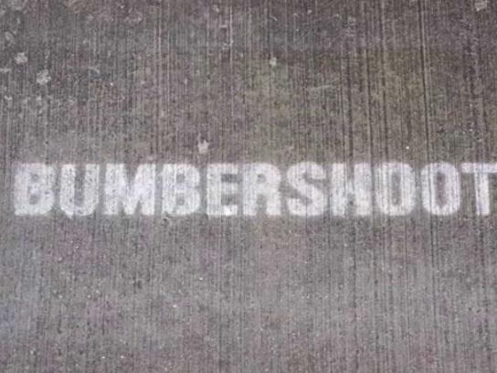 Bumbershoot Outdoor Ad -  Rain activated