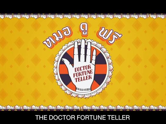 Thai Health Promotion Foundation Experiential Ad - The Doctor Fortune Teller