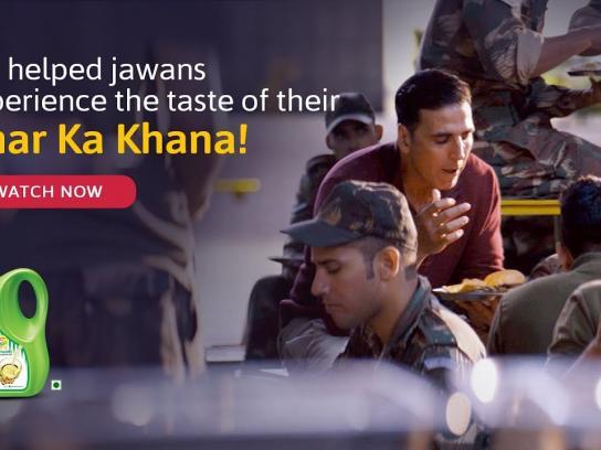 Fortune Foods Film Ad - Ghar Ka Khana, Ghar Ka Khana Hota Hai