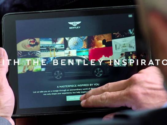 Bentley Digital Ad -  Bentley inspirator