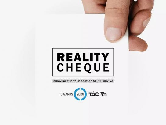 Transport Accident Commission Ambient Ad - Reality Cheque