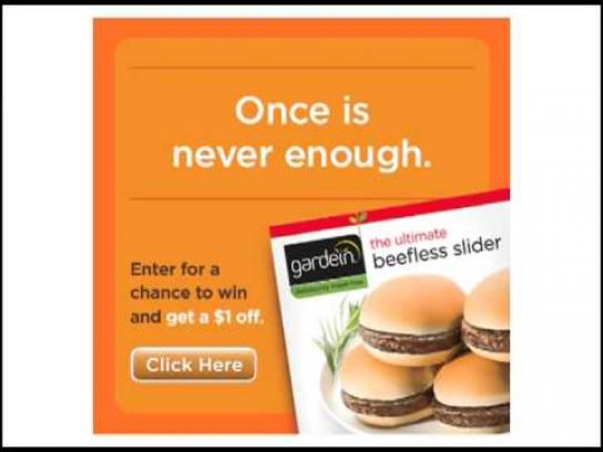 Gardein Audio Ad -  Start A Healthy Relationship, Ultimate Beefless Sliders