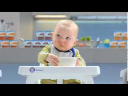 Gerber Film Ad -  Tiny taste-testers