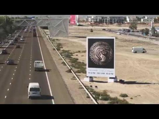 Louvre Abu Dhabi Outdoor Ad - Highway Gallery
