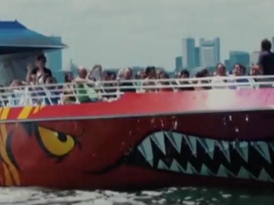 Boston Harbor Cruises Film Ad - Codzilla