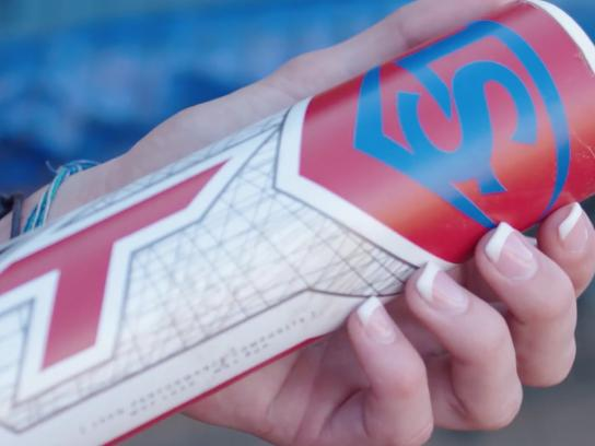 Louisville Slugger Film Ad - Custom Bats
