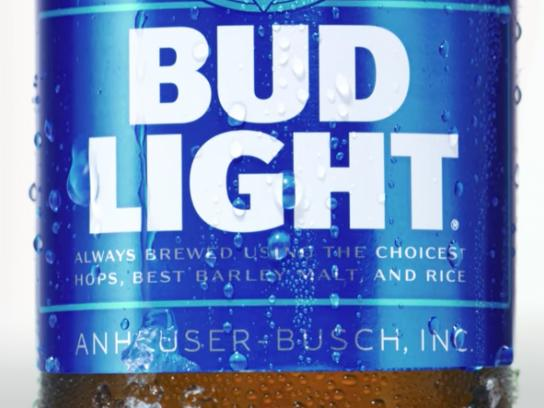 Bud Light Film Ad - Bottle