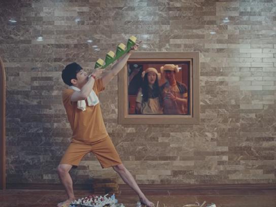 Binggrae Film Ad - One Shot Straw