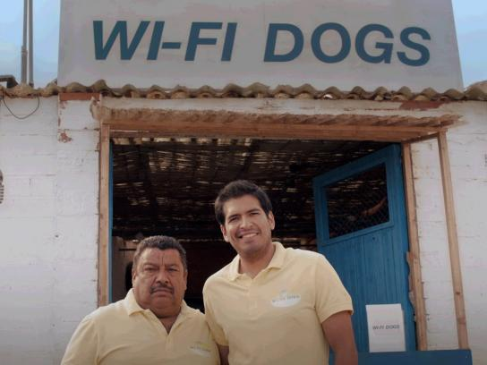 T-Mobile Film Ad -  Wifi Dogs