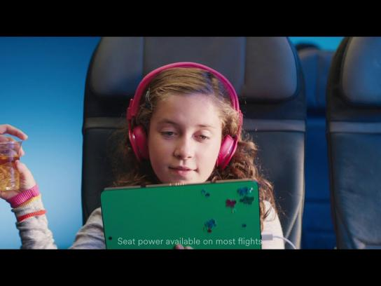 Alaska Airlines Film Ad - Power Move