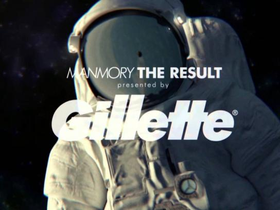 Gillette Digital Ad -  Manmory