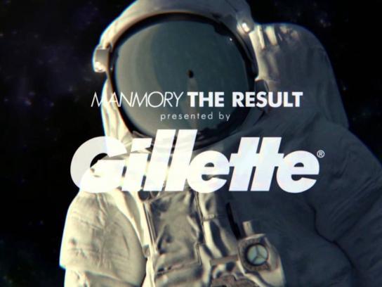 Gillette Digital Ad -  Manmory