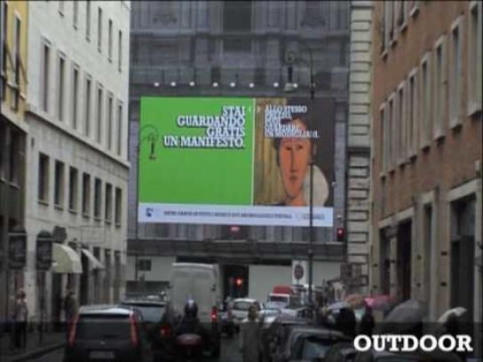 Italian Culture Week Ambient Ad -  Full integrated campaign