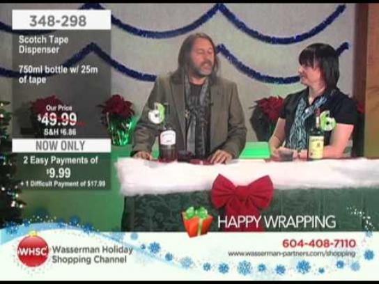 Wasserman Digital Ad -  The Wasserman Holiday Shopping Channel, Scotch Tape Dispenser