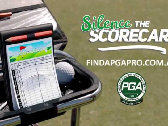 PGA Film Ad -  Silence the scorecard