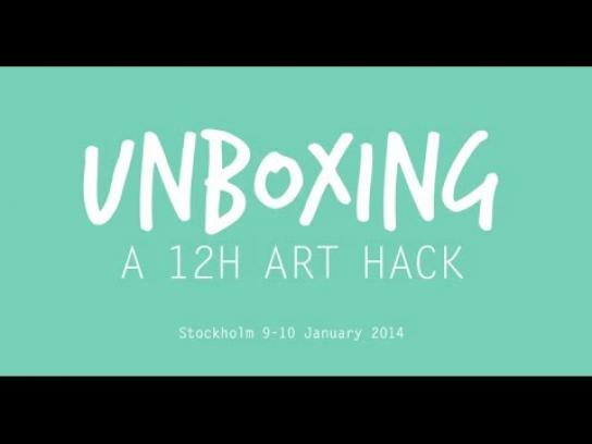 Magine Digital Ad -  Unboxing – A 12 H Art Hack
