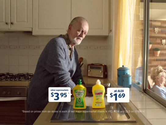 ALDI Film Ad -  Dishwashing liquid