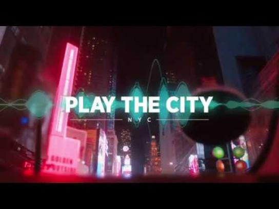 The Recording Academy Experiential Ad - Play the City