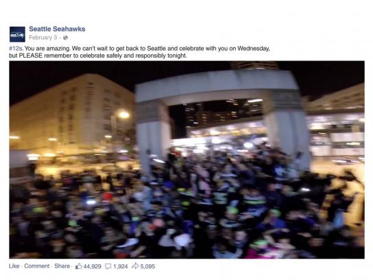 Facebook Digital Ad -  2014 Year in review