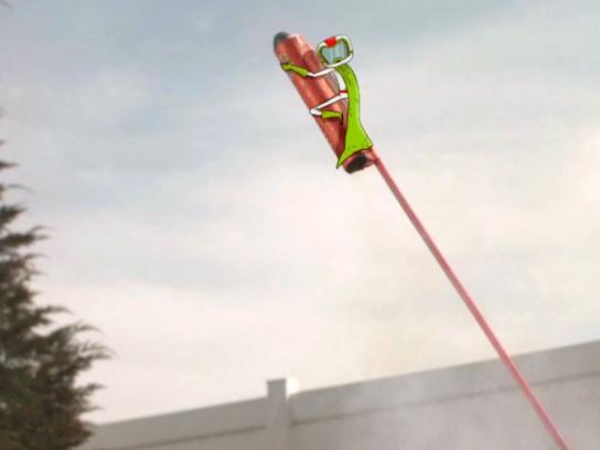 Mountain Dew Digital Ad -  Bottle rocket