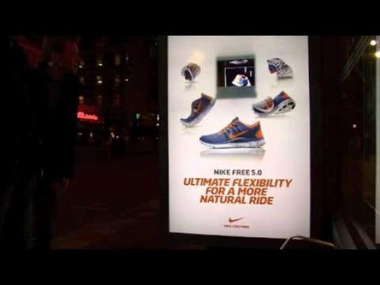 Nike Outdoor Ad -  Hologram