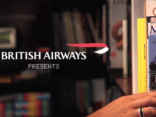 British Airways Ambient Ad -  Barcode Reader