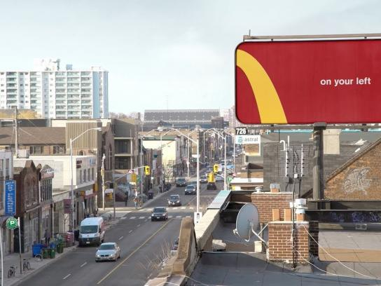 McDonald's Outdoor Ad - Follow the Arches