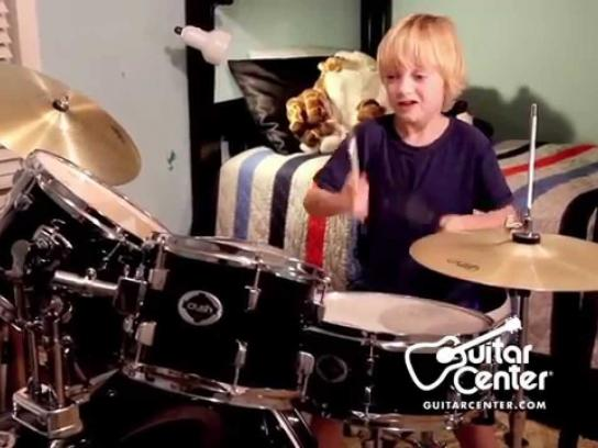 Guitar Center Film Ad -  Drums