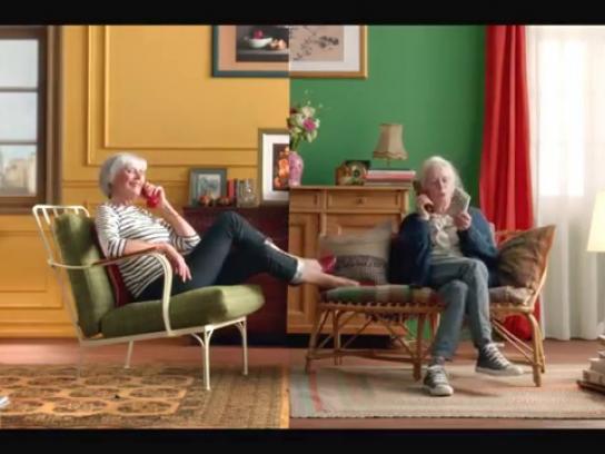 OUIBUS Film Ad -  Francoise