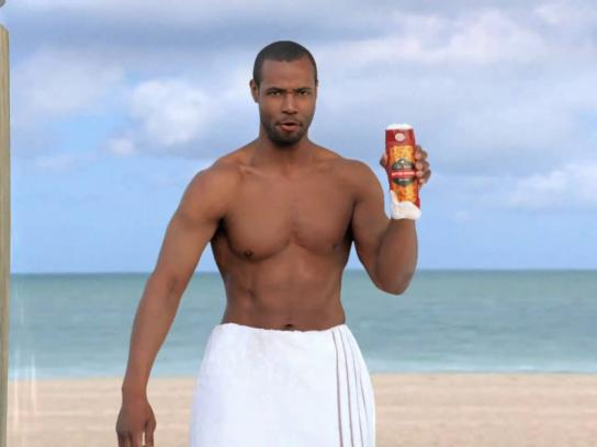 Old Spice Film Ad -  Questions