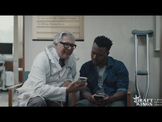 DraftKings Film Ad - Dr. Aftkings