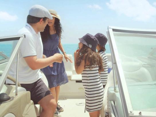 Marseilia Beach 4 Film Ad -  Boat