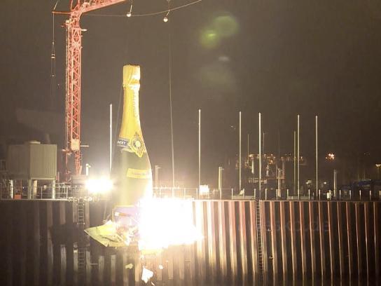 Hanseatisches Wein & Sekt Kontor Digital Ad -  The Revenge of the Champagne