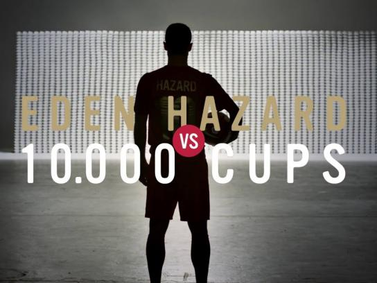 Lotus Digital Ad -  Eden Hazard vs. 10 000 cups