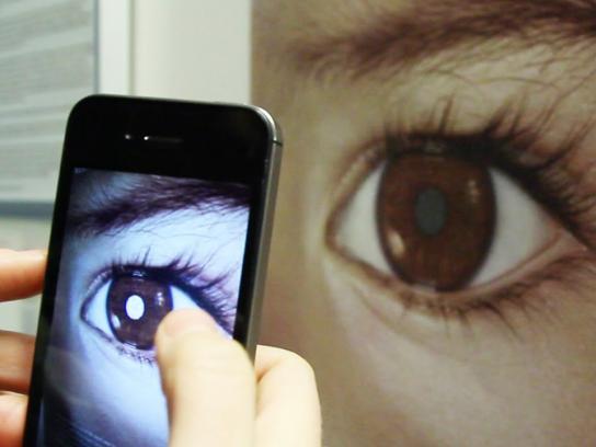 Childhood Eye Cancer Trust Digital Ad -  Detect eye cancer
