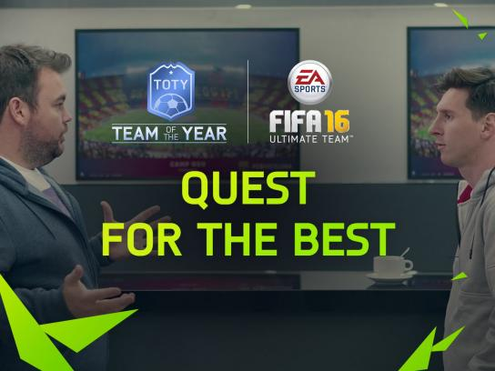 EA Games Digital Ad -  Quest for the Best