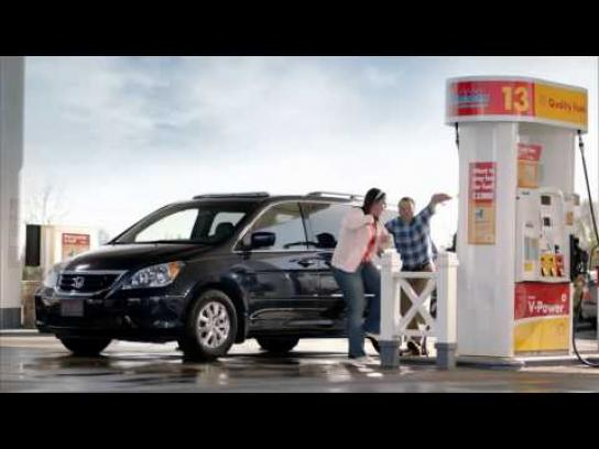 Shell Film Ad -  Minivan Party