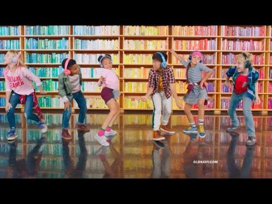 Old Navy Film Ad - Back-to-School Styles from $5