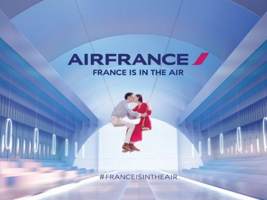 Air France Film Ad -  France is in the air