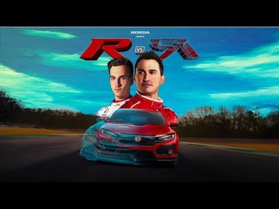 Honda Film Ad - R vs R – A Mixed Reality Race Between Real and Virtual