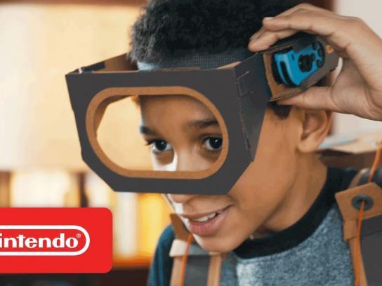 Nintendo Film Ad - Nintendo Labo - Make, Play, & Discover