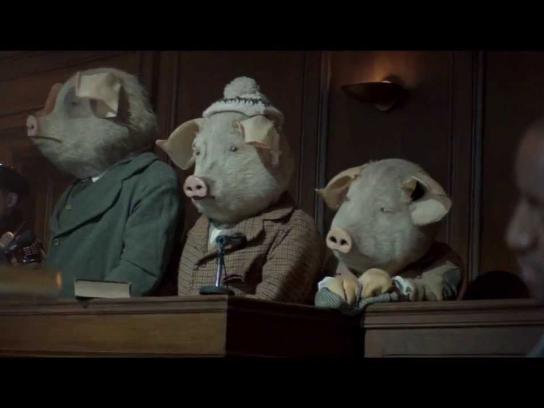 Guardian Film Ad -  Three Little Pigs