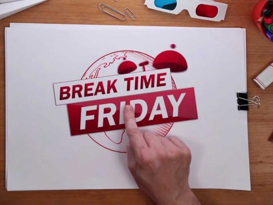 Kit Kat Film Ad -  Break Time Friday