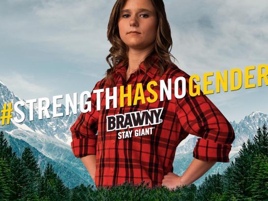 Brawny Film Ad - Brittany Wenger
