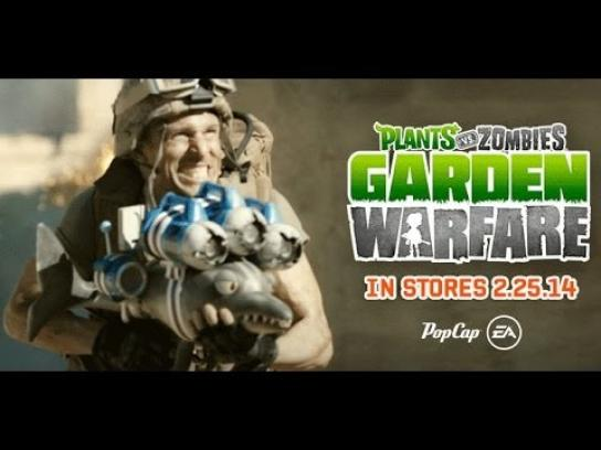 EA Games Digital Ad -  Garden Warfare