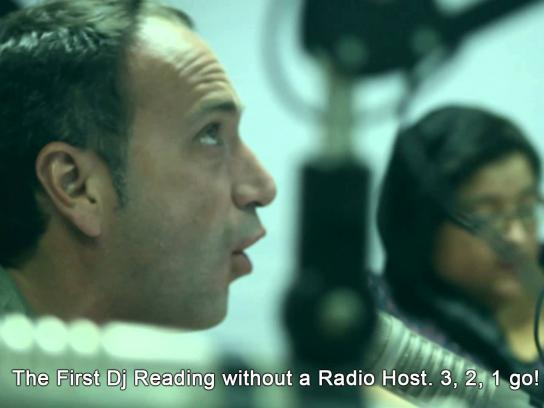 Peruvian Institute of Art and Design Audio Ad -  The First Dj Reading Without a Radio Host